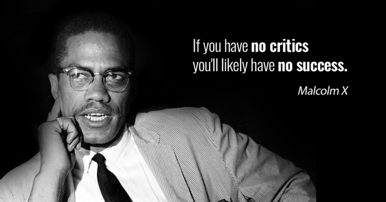 Malcolm-X-quote-on-critics