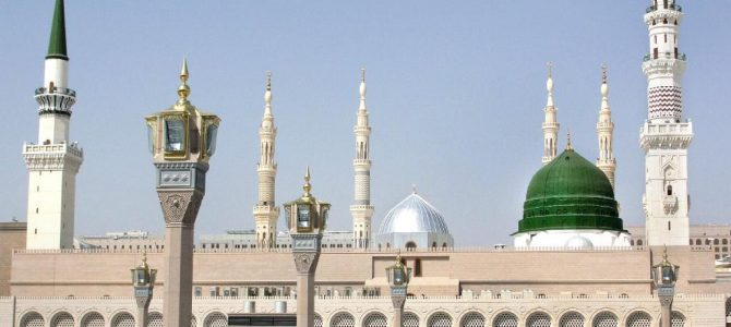 Muslims uphold the honour of the beloved Prophet ﷺ