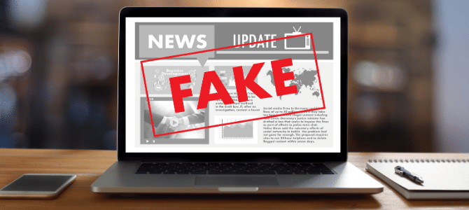 Five ways to fight fake news