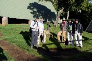 at mandara huts 2700m